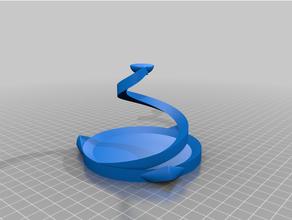 floating coil table floating floating shelf floating table physics demonstration suspension