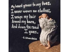 beard beard fan art beard poem shel shel silverstein