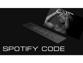 - 2pac spotify code 2pac 3d printing  spotify spotify code spotify keytag talent