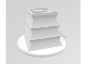 3d photo stand 3d photo 3d photography 3d photo scan 3d photo stand base cube glass glasscube led led light light pagode photo sqare stand