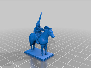 late antiquity - sassanid medium cavalry 20mm 25mm archer cavalry cavalry archer commander historical mace medieval persian standard bearer tabletop tabletop gaming wargaming