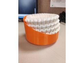coffee filter bowl 3d printing box coffee coffee filter coffee maker coffee filter holder storage