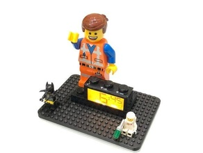 lego alarm clock base base emmet emmet brickowski emmet mattonowski lego lego alarm clock lego clock lego clock base lego movie lego movie 2