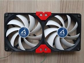 fan joiner holder conector compatible 120mm 140mm fans 120mm fan 120mm fan holder 120mm fan mount 140mm fan 140mm fan holder fan fan holder fan mount