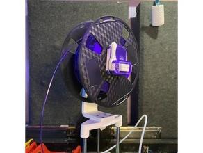 hybrid modular spool roller 608 bearing adjustable adjustable endstop bearing filament filament roller filament spool filament holder filament spool holder modular roller spool spool holder spool roller