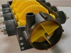 water pump v8 gearbox gear gearbox gears impeller impeller pump planetary gear propeller propellers turbine water water pipe water pump wind turbine
