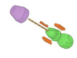 drill bit handle 15 - 6 mm bit bit holder drill drill bit drill holder hand handle hand drill hand tools