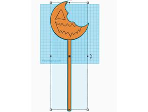 sam trick treat lollipop creepy cute halloween halloween prop pumpkin sam spooky trick treat trick treat