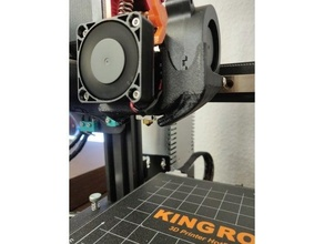 kp3s modular fan duct 3010 4010 hotend 4020 5015 cooling + abl mount bltouch cooling fan kingroon kingroon kp3s kp3s kp3s 3dtouch kp3s bltouch