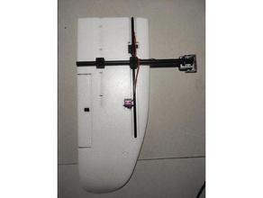 mini talon vtol mounts 14mm carbon fibre tube mini talon mount vtol vtol y3 wing