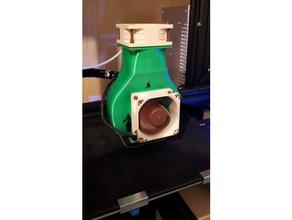 ender 3 - cooling noctua 60x20 60mm 60mm fan 60mm fan mount cooling fan creality ender 3 ender3 ender 3 fan mount fusion 360 hotend cooling noctua fan 60mm parts cooler parts cooling mount