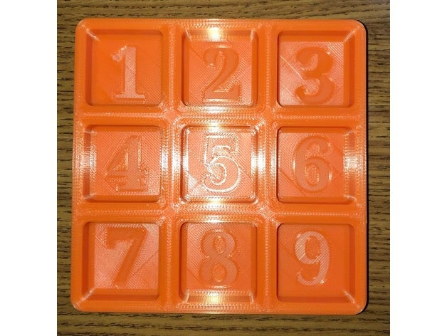 numbered parts trays tray