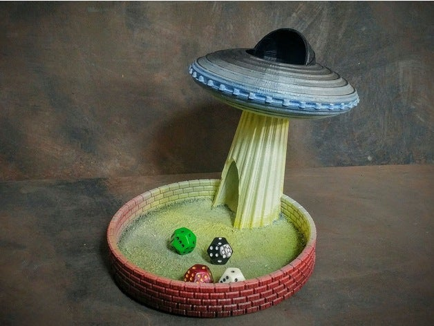 flying saucer dice tower