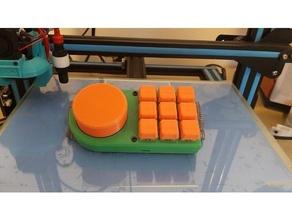 macro keyboard volume knob - wip 3d printing diy electronics keyboard macro macropad macropad keyboard macro key macro keyboard mechanical keyboard volume button volume control volume knob wip