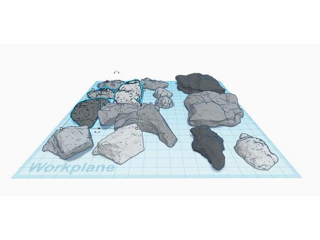 model railroad terrain ro