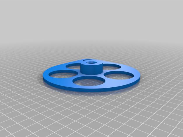 parametric webbing spool