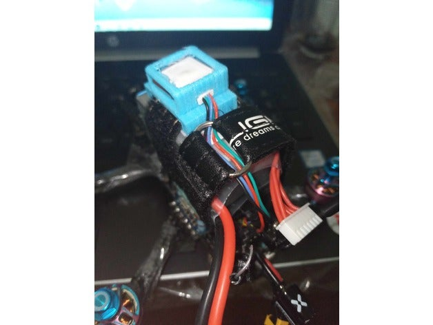 gps mount battery straps