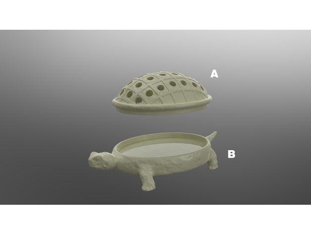 turtle soap tray househol