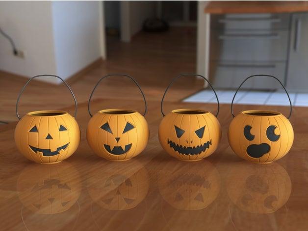 pumpkin pails halloween h