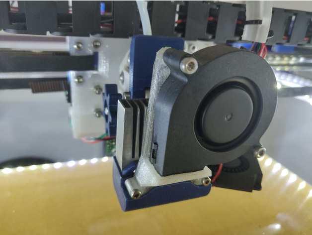 omniadrop 5015 radial fan