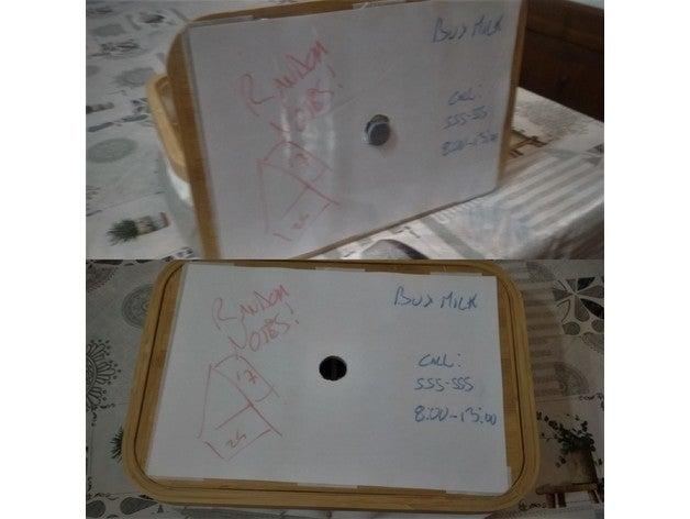 whiteboard lid adapter ik
