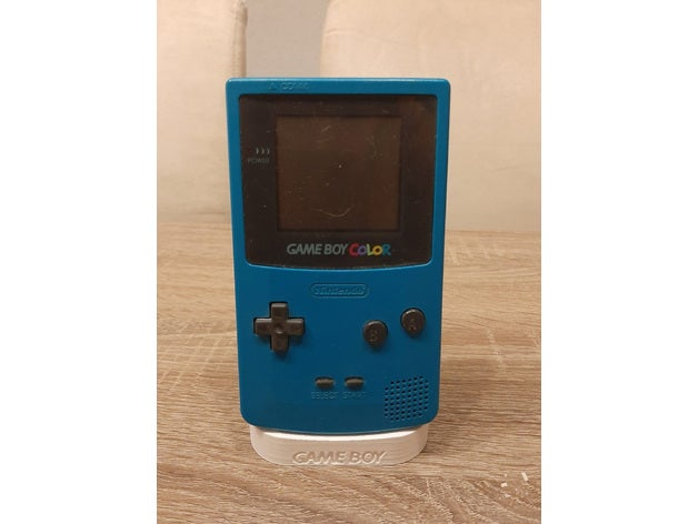 gameboy color stand gameb