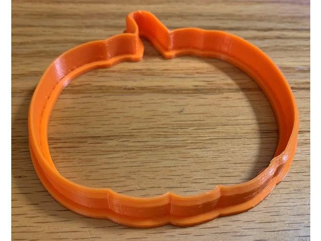pumpkin cookie cutter bak