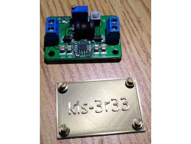 kis-3r33 4a buck converte