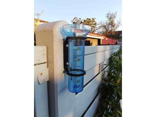 rain gauge holder gauge h