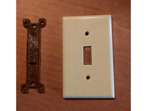 electrical switch blank e