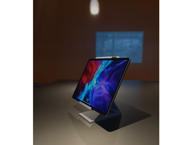 ipad free floating stand