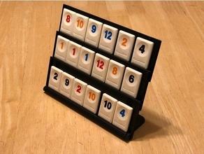 deluxe three-level collapsible rummikub tile holder boardgame game games holder rummikub rummikub stand rummikub tiles stand tile