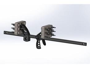 spreader bar teeth bar clamp bar clamp cleaning aid hunting ratchet bar clamp spreader bar