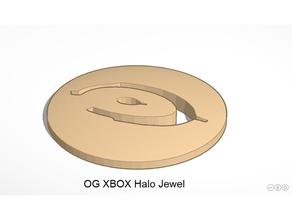 microsoft og xbox jewel replacement - halo jewel custom xbox halo jewel halo logo og xbox og xbox mod original xbox retrogaming xbox jewel xbox logo xbox mod
