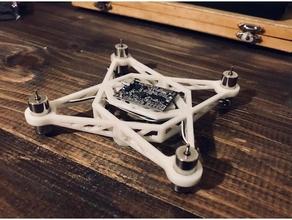 lisu 3 inch fpv drone frame 3d printer 3d printing 3inch drone diydrones drone drone frame drone racing fpv drone lisu drone luftlab luftmaker maker open source uav