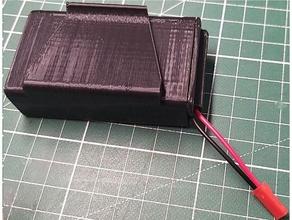 fpv battery case 2s 18650 bms 18650 18650 battery holder 18650 case 18650 holder 2s 18650 2s 18650 fpv fatshark battery fpv battery