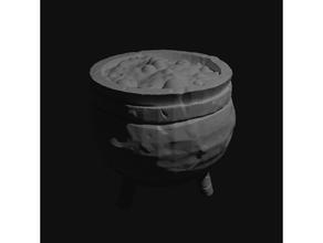 large cauldron scaled 28mm tabletop 28mm cauldron dark cauldron frostgrave frostgrave terrain medieval cauldron mordheim mordheim terrain scatter terrain scatter terrian tabletop tabletopterrain tabletop terrain terrain accessoires terrain building terrain model wargame terrain wargaming terrain witch witchs cauldron