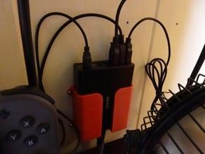 usb multiport charger wall holder v2 usb usb charger usb charging usb holder usb organizer usb wall hanger usb wall holder usb wall mount