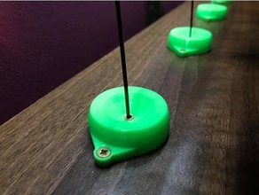 shelf grommet holder pc4-m6 ptfe teflon filament tube mmu mmu2 mmu2s prusa i3 mk3 mmu2 ptfe ptfe guide ptfe tube ptfe tube mount teflon teflon tube teflon tube holder