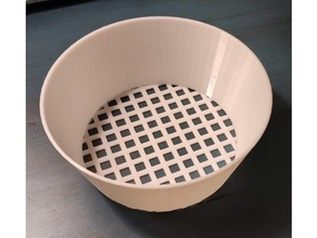 cereal & peanut sieve cereal cereal sifter peanut sieve sift sifter sifting