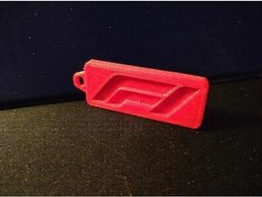 keychain f1 3d keychain 3d keychains car customized f150 f1 car f1 race car ford f150 formula1 formula 1 formula key keychain keychains openrc f1 personalized personalized keychain renkforce rf100 rf100