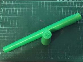 tin whistle storage tube clarke celtic tinwhistles sweetone case clarke irish music penny whistle sweetone tin whistle tinwhistles tube whistle