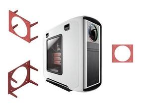 525 bay 120x120 mm cooler support-adapter - adaptador bah cooler 525 525 bay bahia bay cooler cooling duct fan duct cooler