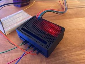 relay module case 4 channel elegoo 4-fach 4-relay arduino case box case elegoo elegoo relay elegoo relay module kasten kiste relais relay relay case relay module
