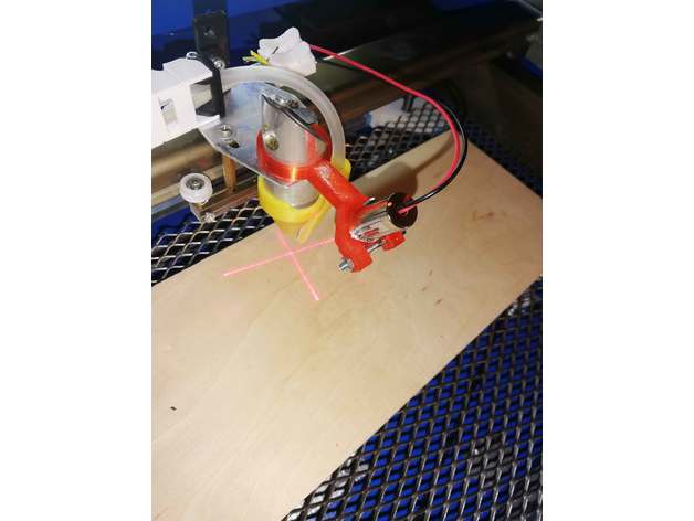 laserpointer holder k40 k