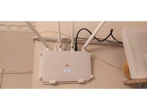 xiaomi mi router 4a giga r4a wall mount easy printable ac1200 router router mount wall hanger wall mount xiaomi xiaomi mi 4a xiaomi mi