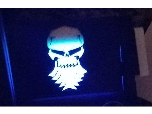 bearded skull control pan