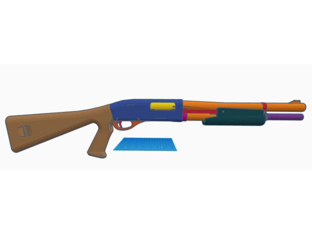remington 870 working mod