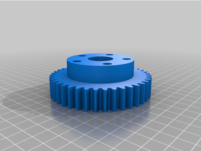 kaly nyc straight spur wheel gear 40t
