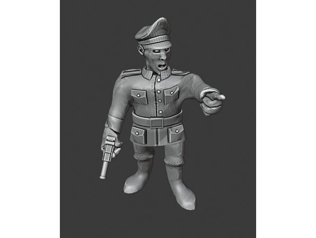 german officer 28mm bolt